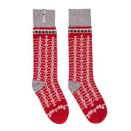 ÖEKS05SOMI, Öjbro Vantfabrik, Ekshärad Grå Socks, Red, Winter Socks | Warm Socks