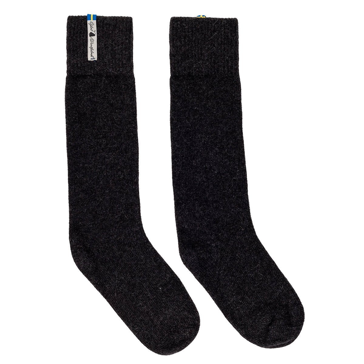ÖKAR02SOLA, Öjbro Vantfabrik, Karg Rörö Socks, Black,  Winter Socks | Warm Socks