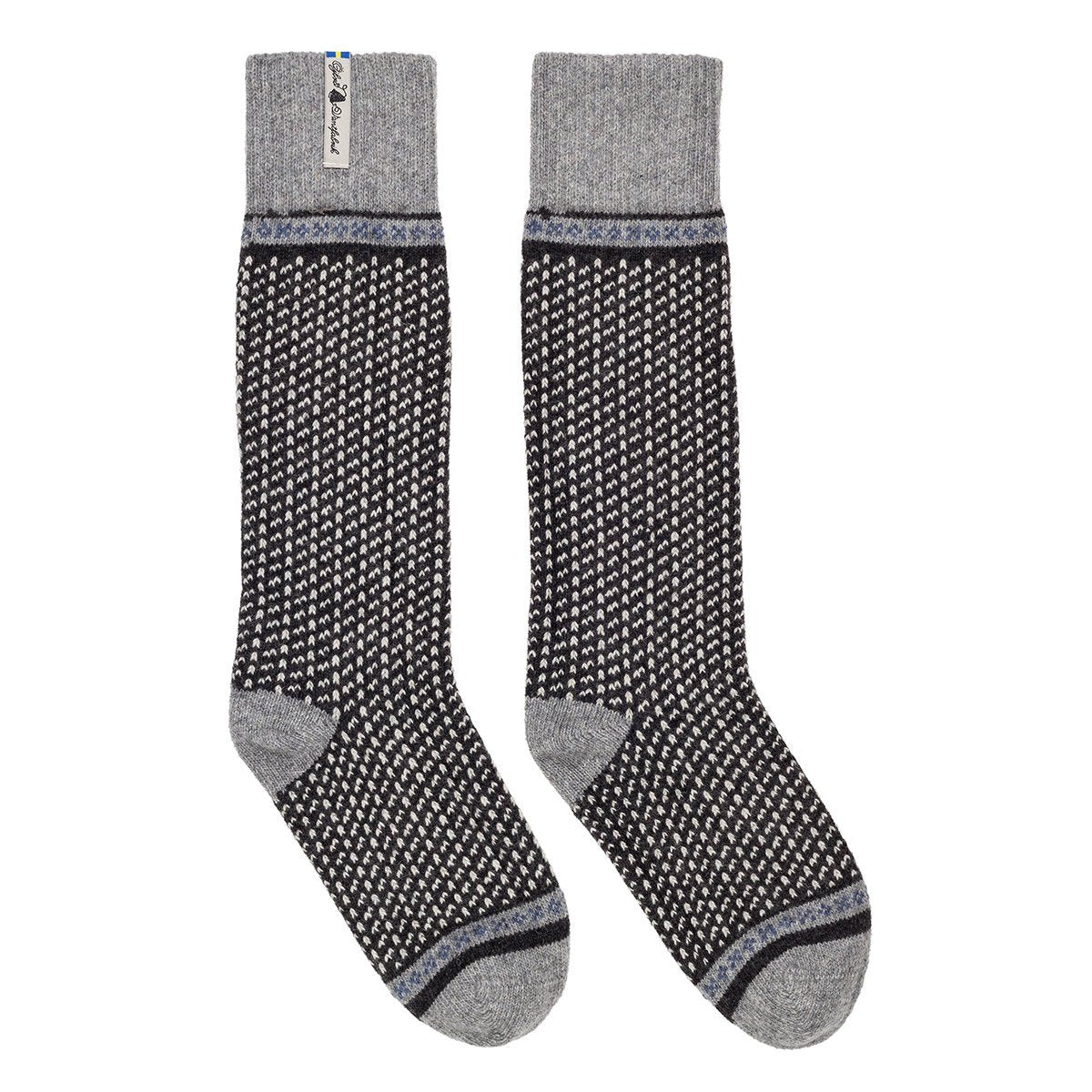 ÖSKA02SOLA, Öjbro Vantfabrik, Skaftö Sot Socks, Black,  Winter Socks | Warm Socks