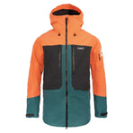 MO-YTJ103B-S, Planks, Men's Tracker Insulated Jacket, Lifeboat Orange, Mens Snow Jacket