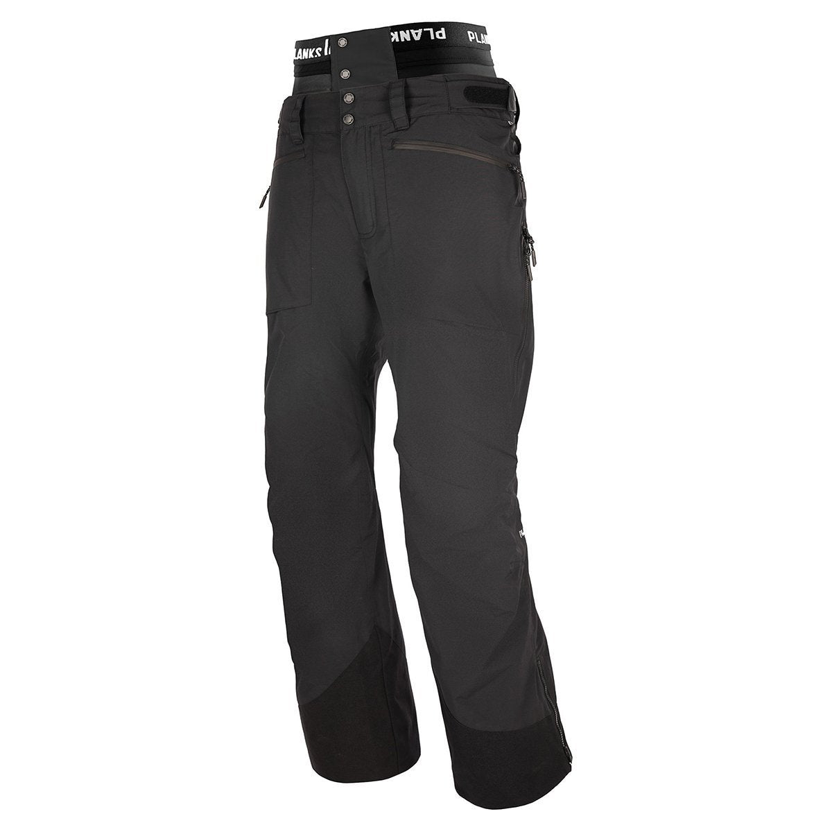 MO-YTP101B-S, Planks, Men's Tracker Insulated Pant, Black, Mens Snow Jacket