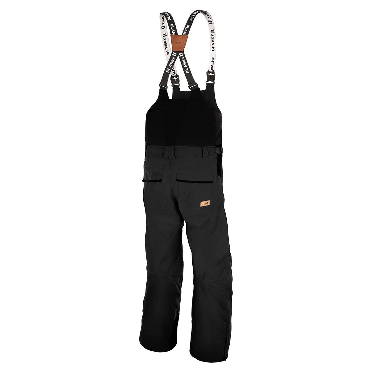 UO-TPB105A-XS, Planks, The People's Bib, Black, Ski Salopette | Snowboard Bib Pant