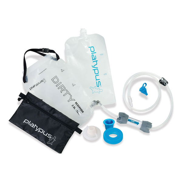 GravityWorks 2L Water Filter System Platypus 06951 Water Filters 2L / Clear