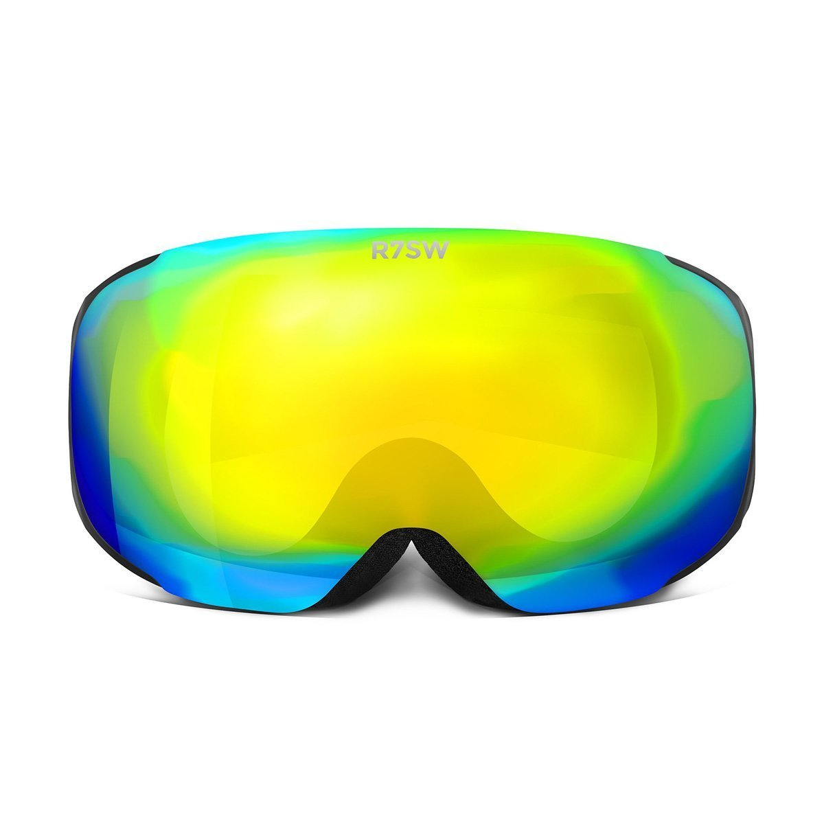 PSGYEL19, Red7SkiWear, Performance Ski Goggles, Yellow