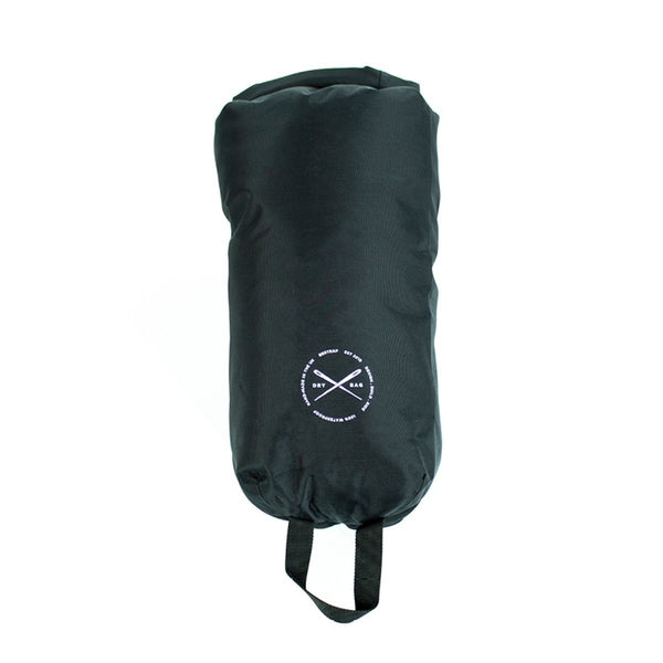 Restrap | Dry Bag - Standard - 8 litre | Dry Sack | Waterproof Dry Bag | Black