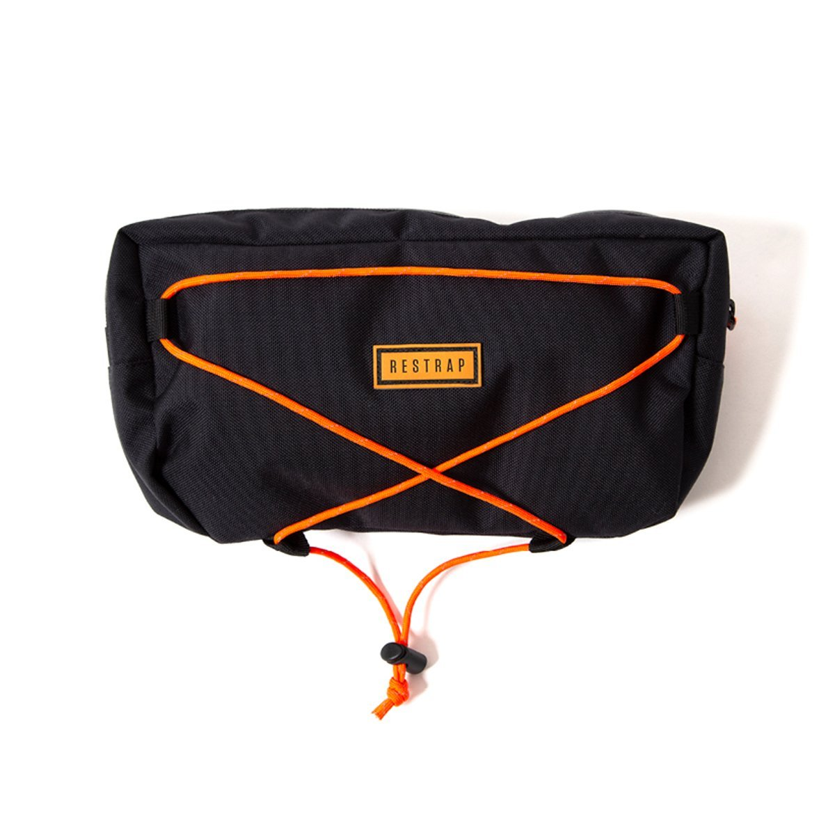 Restrap | Large Bar Bag | Bike Handlebar Bag | Bicycle Handlebar Bag | Black