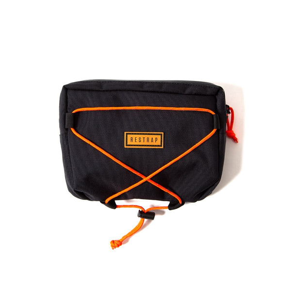 Restrap | Small Bar Bag | Bike Handlebar Bag | Bicycle Handlebar Bag | Black