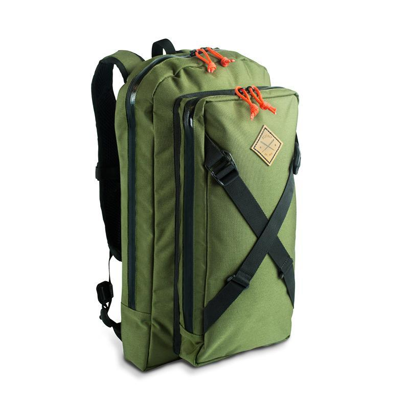 Waterproof Commuter Bike Backpack | Olive | Restrap | Sub Backpack