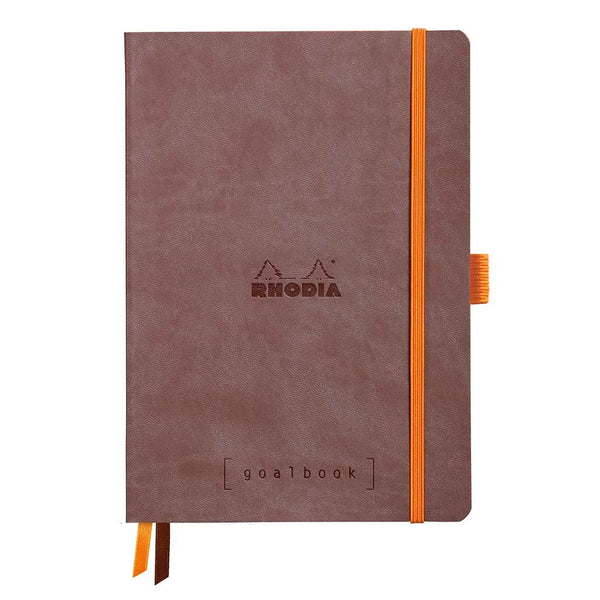 GoalBook Dot Grid Rhodia 117743C Notebooks A5 / Chocolate
