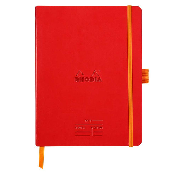 Meeting Book Rhodia 117793C Diaries A5 / Poppy Red