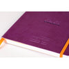 Meeting Book Rhodia 117790C Diaries A5 / Purple