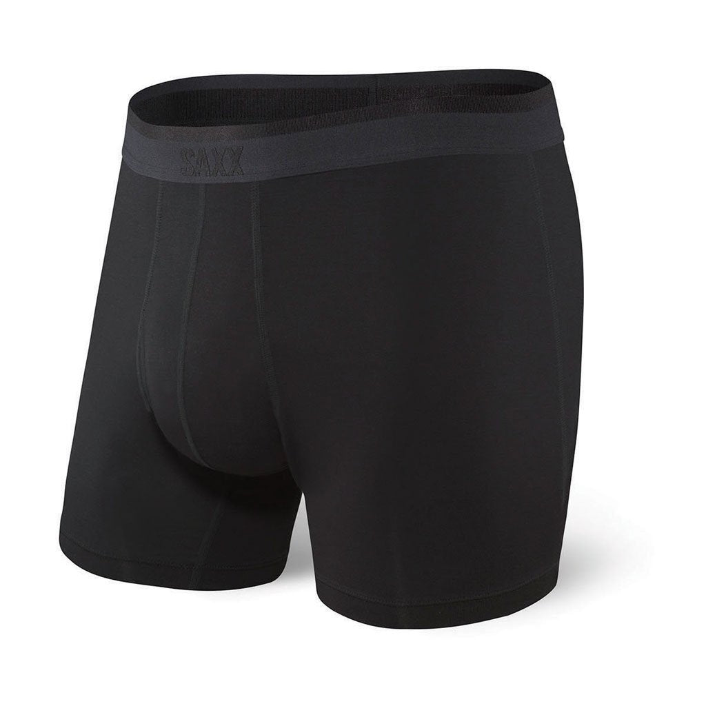 SAXX Underwear | Platinum Boxer Brief | Blackout | Black | SXBB42F-BLO