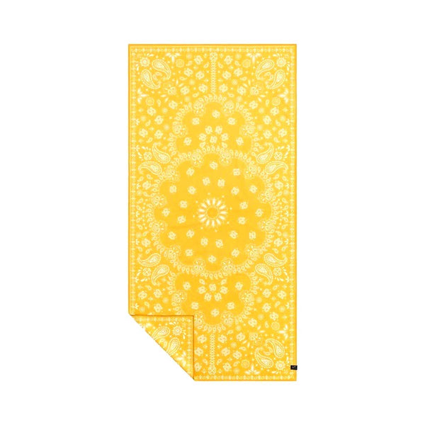 Paisley Park Yellow Travel Towel Slowtide ST319 Towels One Size