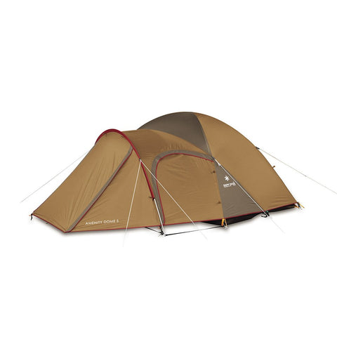 Snow Peak  Amenity Dome Tent 2p  2 Person Tent  Tan