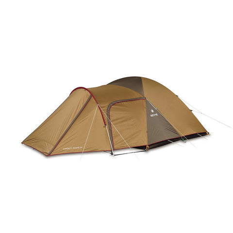 Snow Peak  Amenity Dome Tent 4p  4 Person Tent  Tan