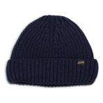 ATL_CAP_BLUE, &SONS, Atlantic Watch Cap, Classic Navy, Wool Beanie | Woollen Cap