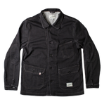 Carver Jacket II | &SONS | Mens Chore Jacket | Cotton Twill | Black