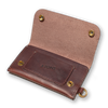 &SONS | Leather Wallet | Brown Leather Wallet | Leather Travel Wallet | Brown