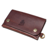 Leather Wallet &SONS LW-Brown Wallets & Card Holders One Size / Brown