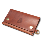 &SONS | Leather Wallet | Tan Leather Wallet | Leather Travel Wallet | Tan