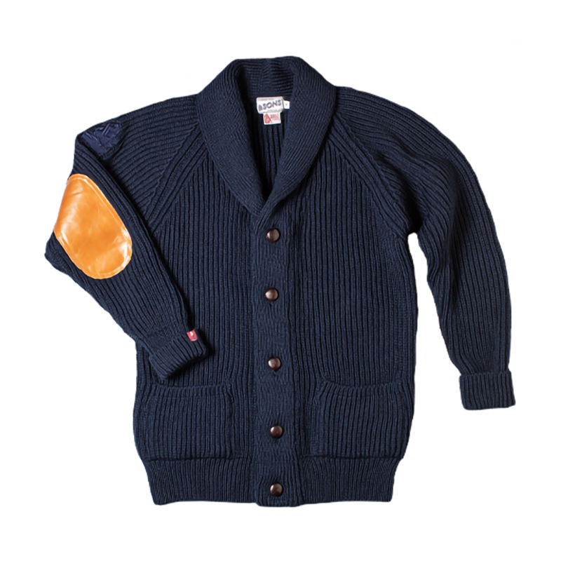 Pioneer II British Wool Cardigan