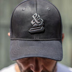 GBCG, &SONS, The GARAGE Baseball Cap, Grey, Grey Baseball Cap | Retro Baseball Cap | Retro Cap
