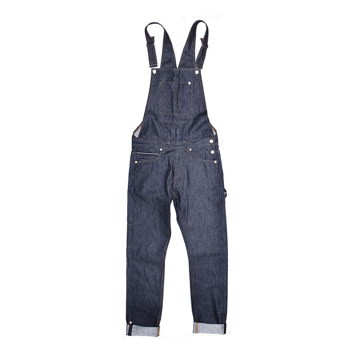 &SONS | Women's Union Overalls | Heavyweight 13 oz Selvedge Denim