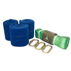 NTK3, Tentsile, No Trace Kit, Blue / Green, Tree Protection Kit