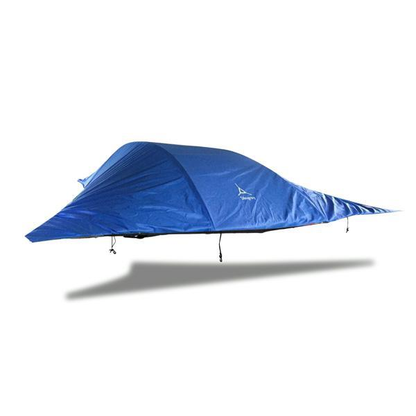 Tentsile | Stingray Tree Tent | 3 Man Suspended Hammock Tent | Blue special edition