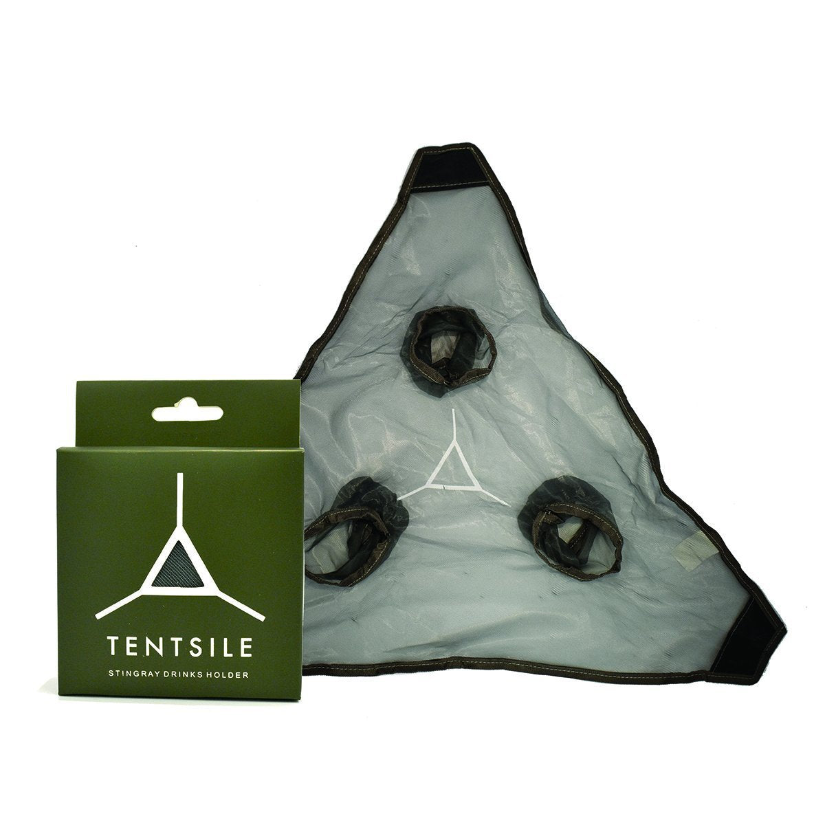 DRINK3, Tentsile, Tree Tents Drink Holder, Grey Mesh, Tentsile Cup Holder