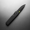 KN100132-00, The James Brand, Chapter, Black / Black, Frame-Lock Knife | Folding Pocket-Knife