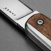 The County The James Brand KN101122-00 Pocket Knives One Size / Walnut / Stainless