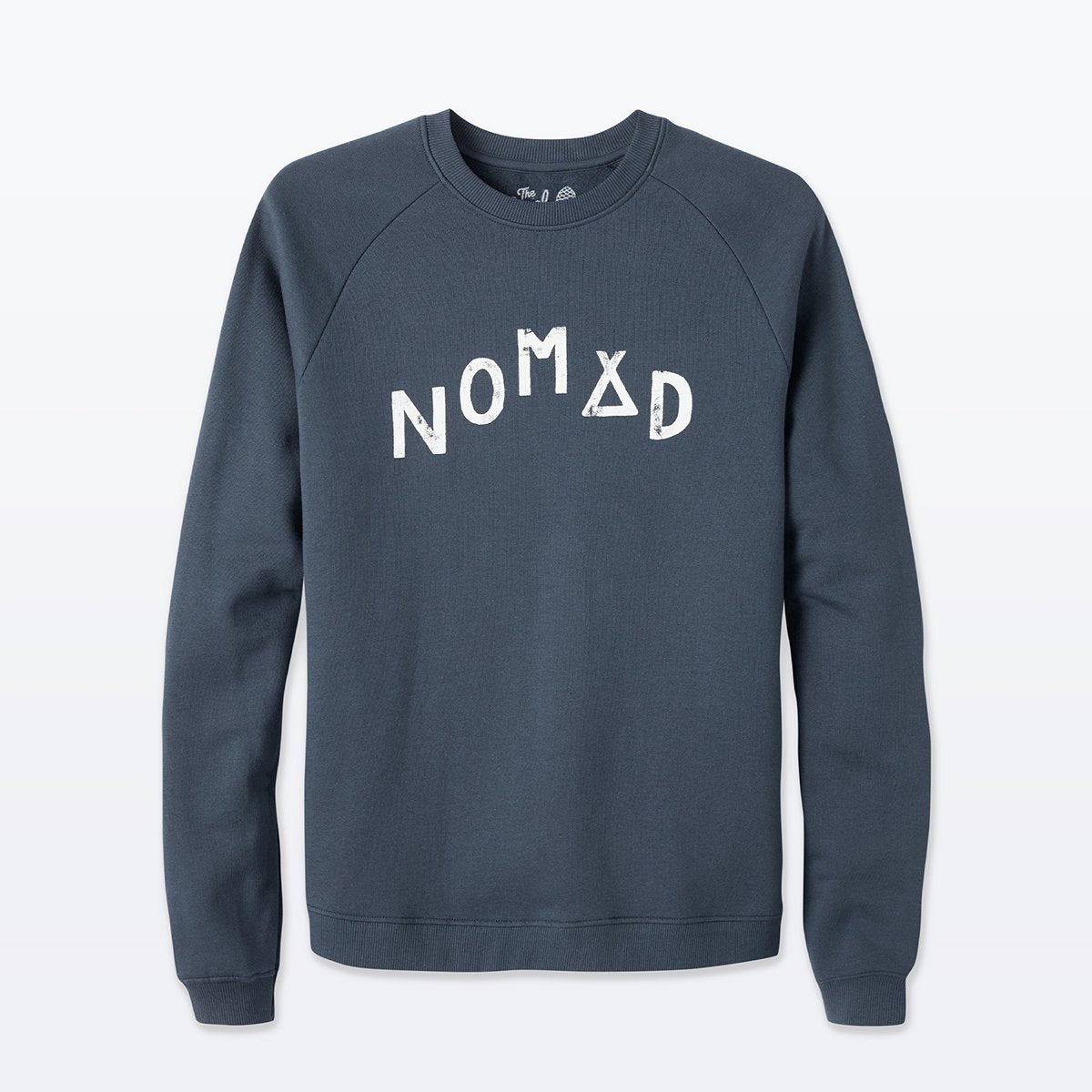 The Level Collective | Nomad Sweatshirt | Cotton Jumper | Logo Sweater | Navy