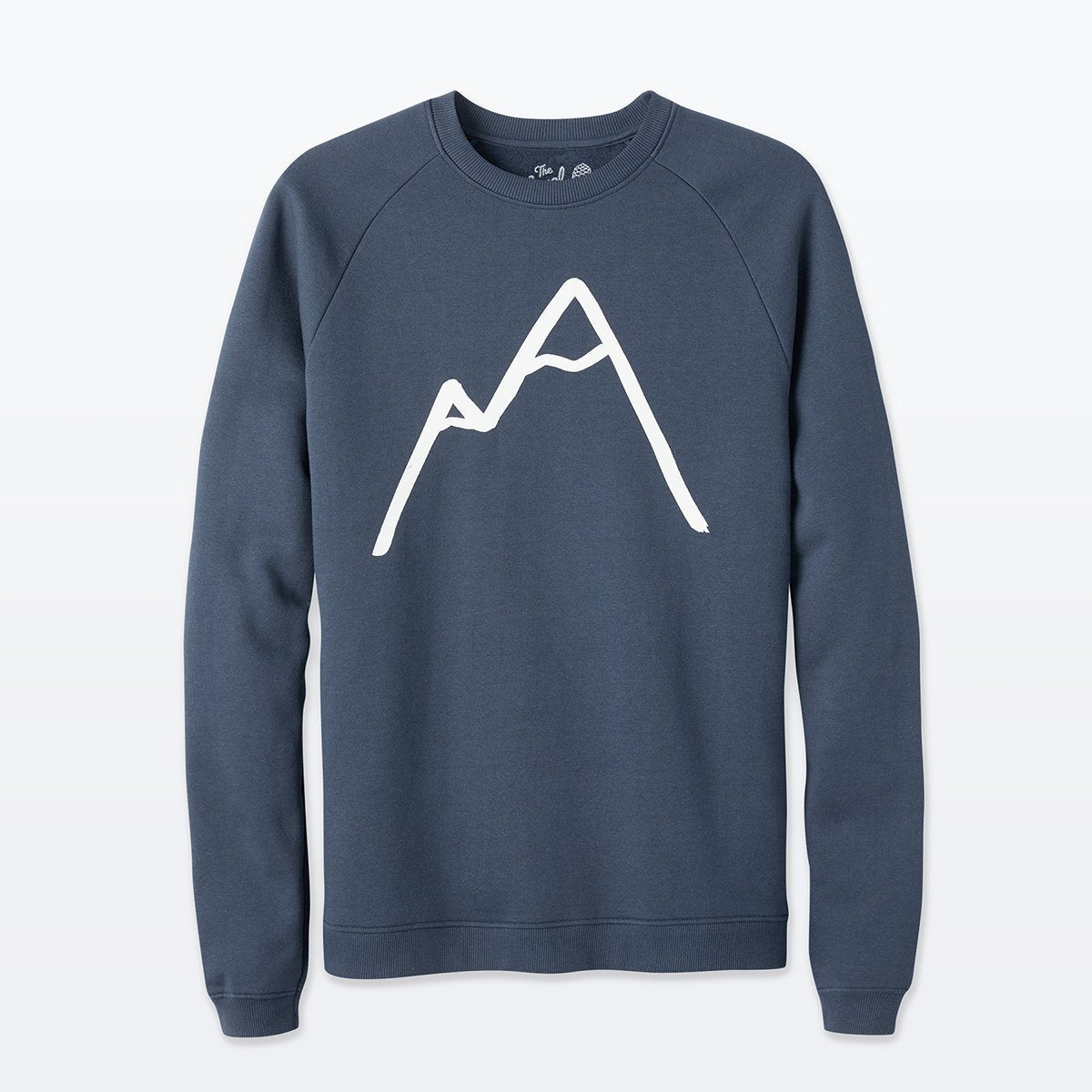 The Level Collective | Simple Mountain Sweatshirt | Cotton Jumper | Navy