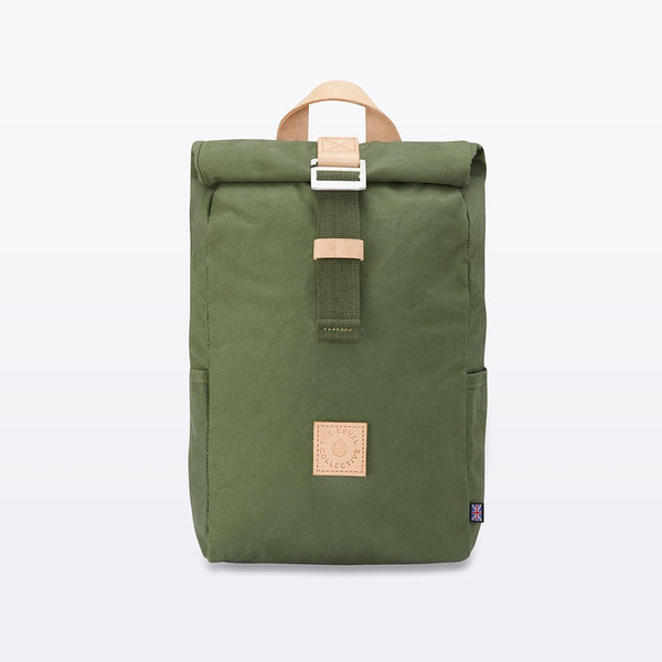 The Level Collective | Winnats Rolltop | Hiking Rucksack | Forest
