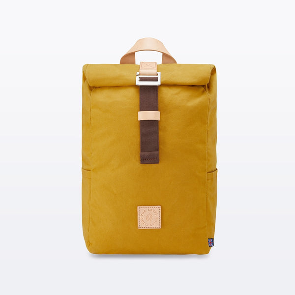 The Level Collective | Winnats Rolltop | Hiking Rucksack | Mustard