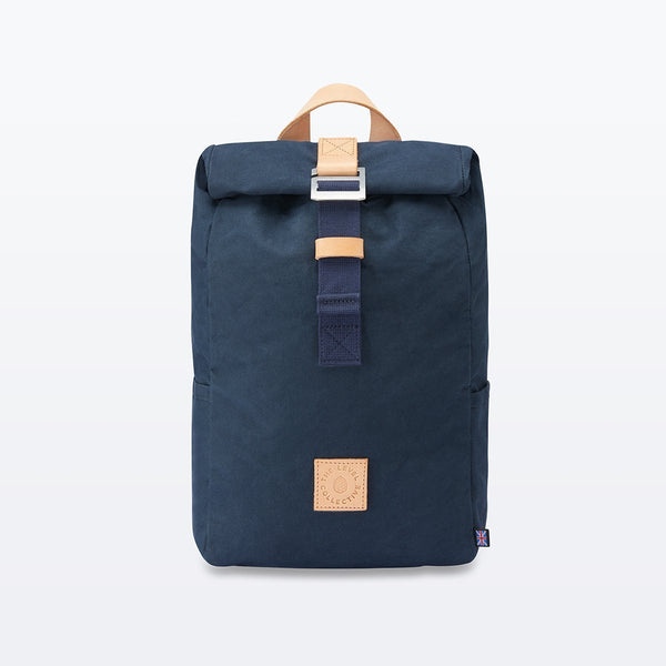 The Level Collective | Winnats Rolltop | Hiking Rucksack | Navy