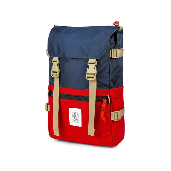 Rover Pack 20L Topo Designs TDRP013/E20 Bags - Backpacks Navy/Red / 20 L
