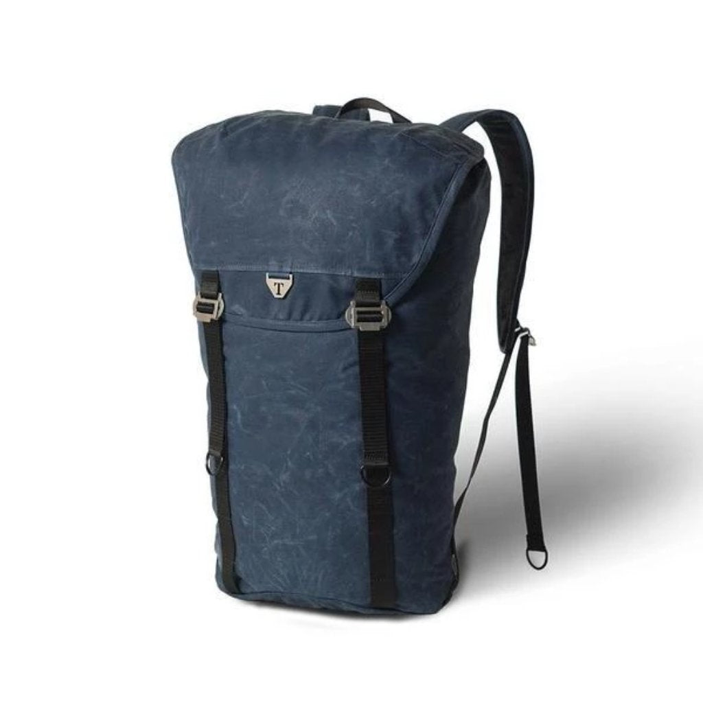 Trakke - Assynt 28 » Waxed Canvas Backpack - Navy Backpack
