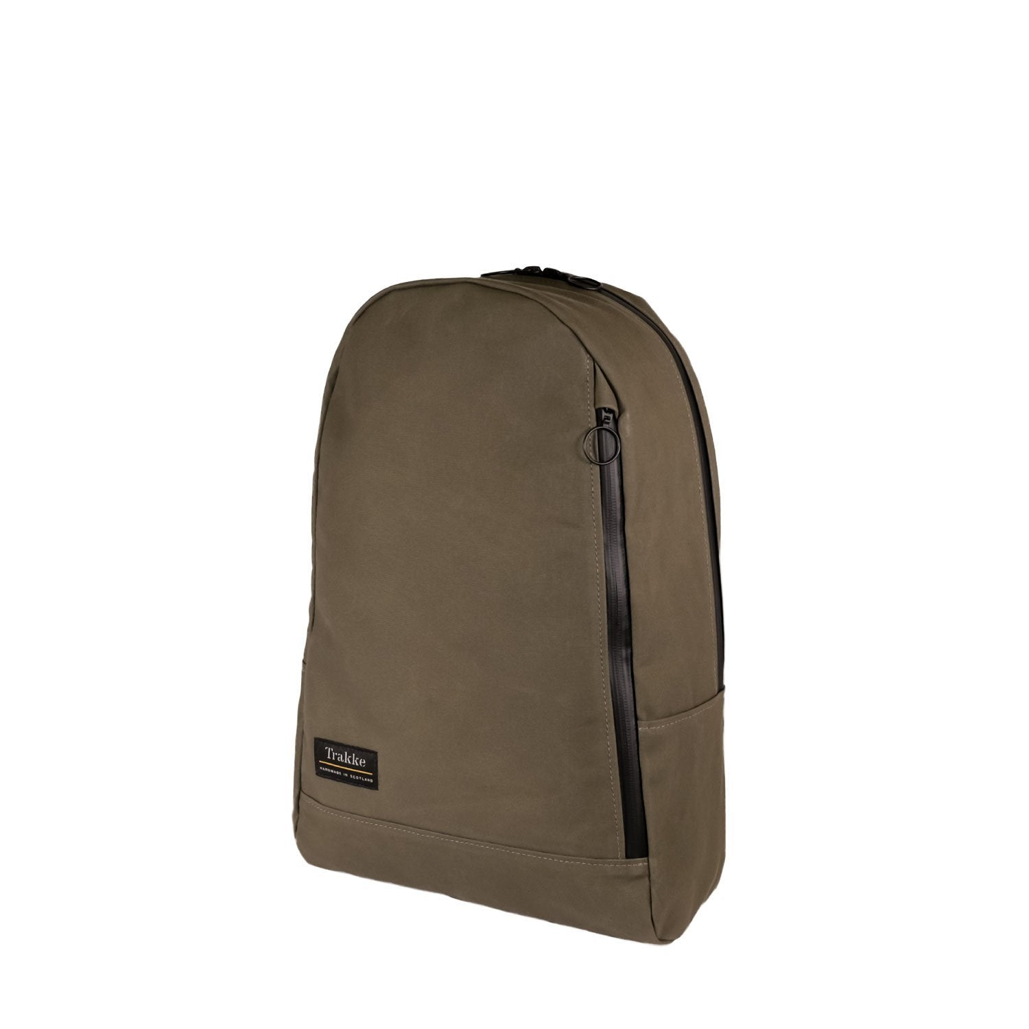 Trakke | NEW Fingal Backpack | Waxed Canvas Backpack | Laptop Rucksack - Olive
