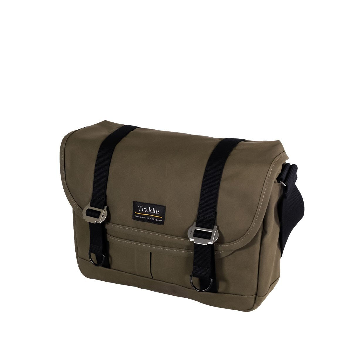 Trakke | NEW Bairn Messenger Bag | Waxed Canvas Laptop Messenger Bag | Olive