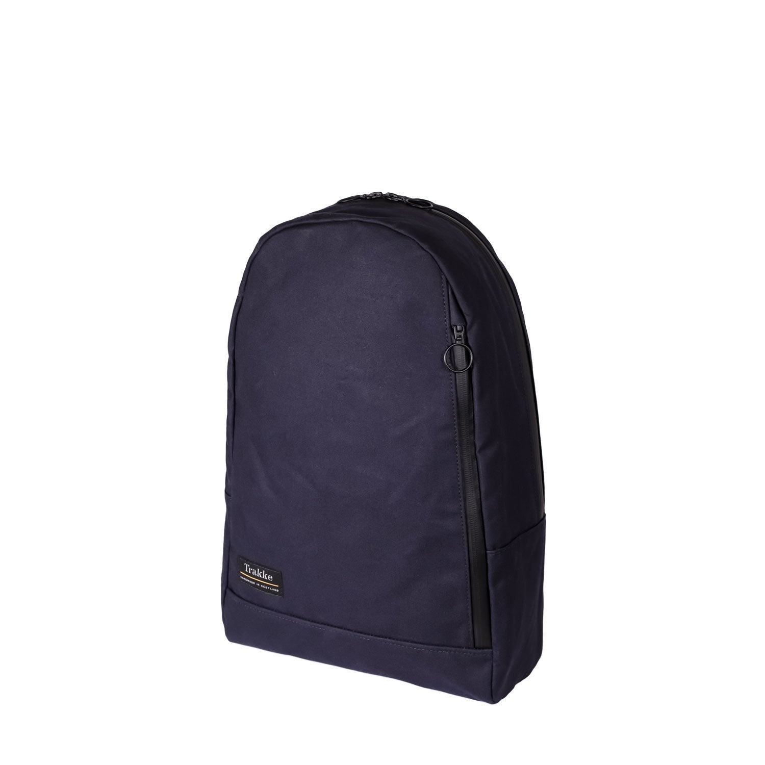Trakke | NEW Fingal Backpack | Waxed Canvas Backpack | Laptop Rucksack - Navy