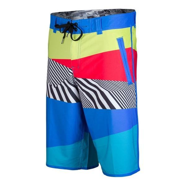 tshOtsh Men's Swell Blue Board Shorts front