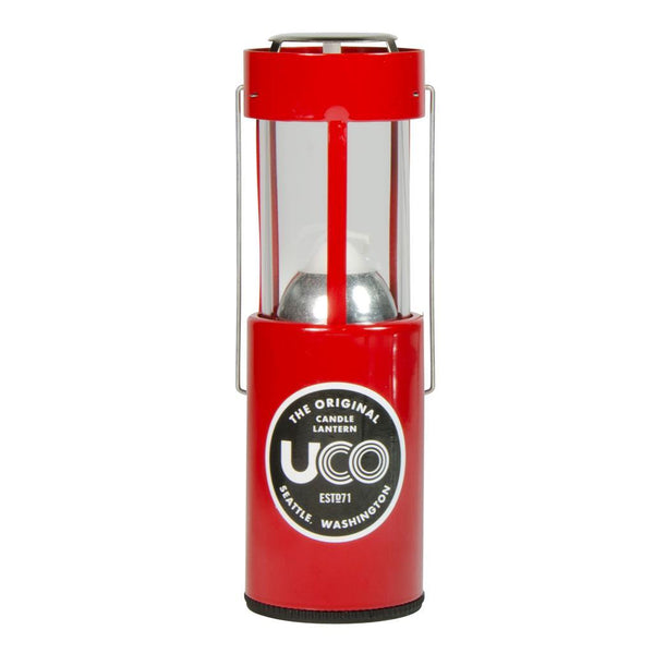 UCO 9 Hour Original Candle Lantern UCO Gear UCO3RED Lanterns 9 Hour / 1 Candle / Red