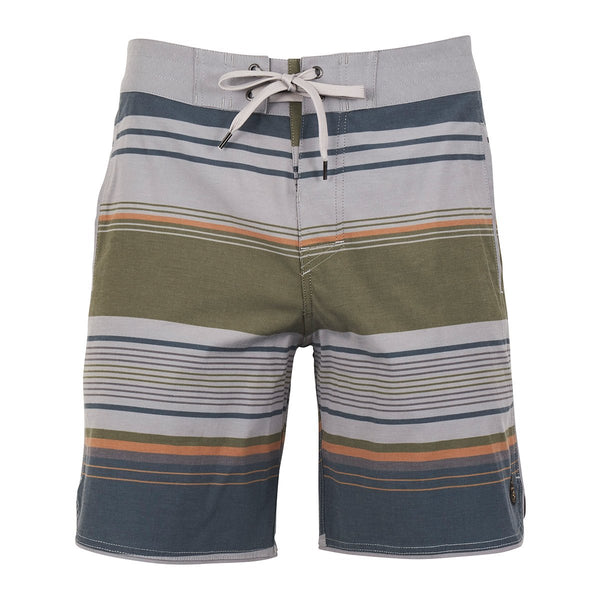 United By Blue | Men's Boardshorts | Seabed Scallop Board Shorts | Grey