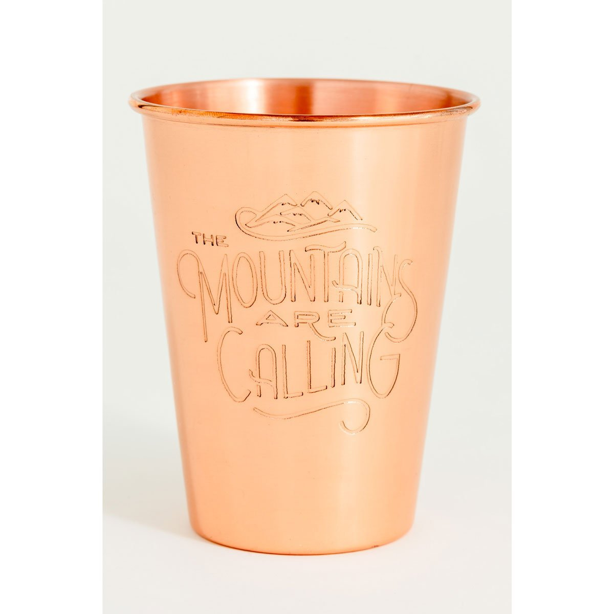 United By Blue | 16 oz Copper Tumbler | Mountains Are Calling
