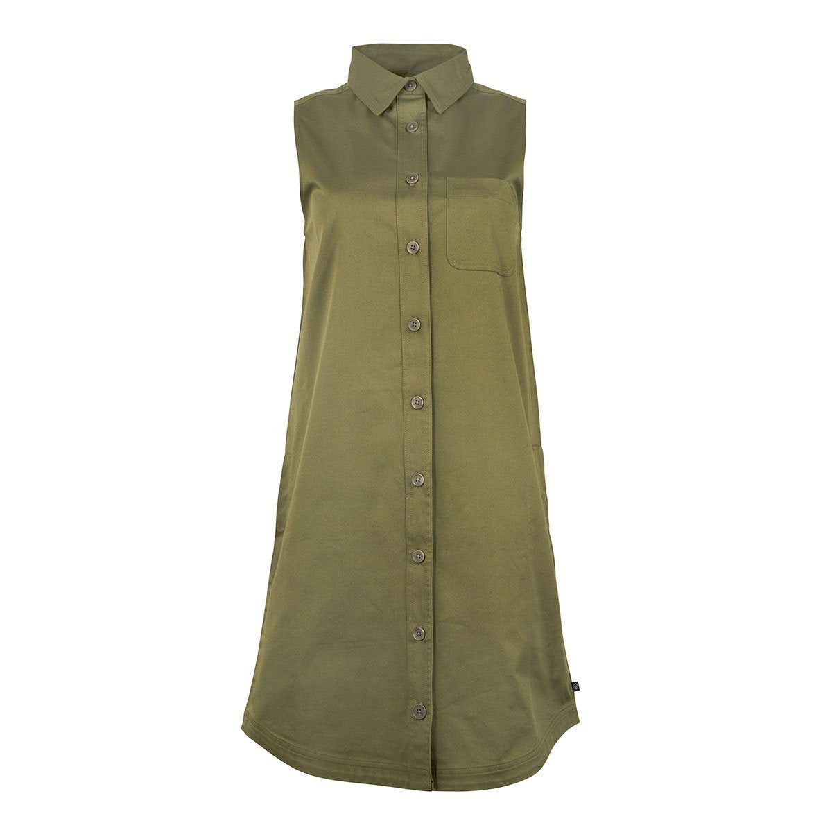 United By Blue | Women's Pinnacle Commuter Dress | Olive
