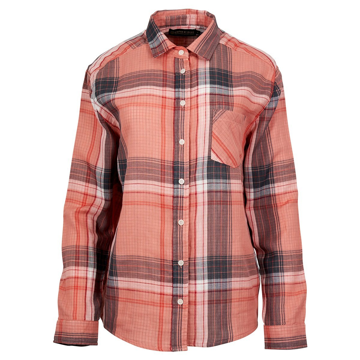 Women's Plaid Button Down