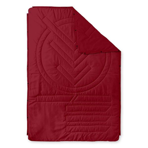 Ripstop Pillow Blanket Voited V20UN01BLPBCOXB Blankets One Size / Oxblood
