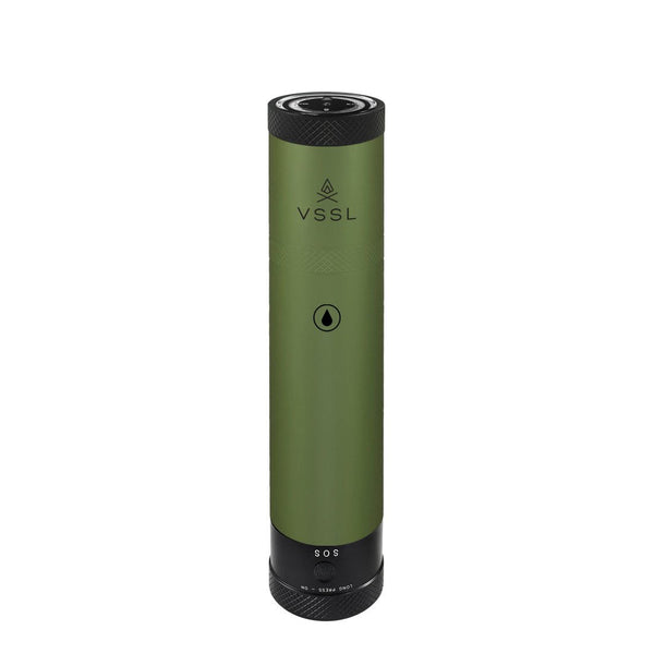 VSSL Flask VSSL 01-106-00G Camp Flasks One Size / Green